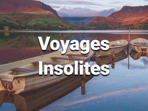 Voyages insolites