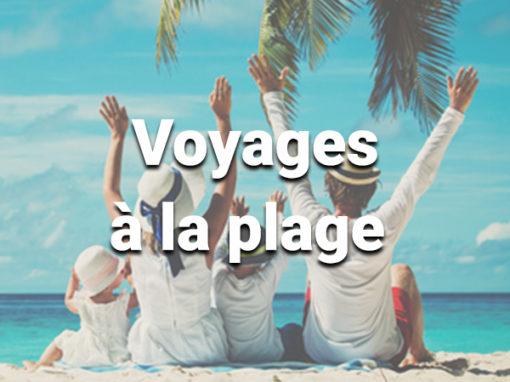 Voyages à la plage