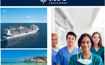 MSC Croisières remercie le personnel soignant !